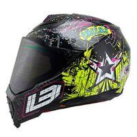 BYE Motorcycle Helmets Men Full DOT Visor Moto Riding Racing Adventure Motocross