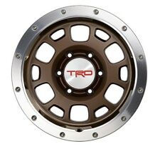 Toyota 4Runner Tacoma FJ Cruiser TRD Off Road Beadlock Alloy Wheel Bronze OEM 🔥