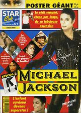 Magazine STAR CLUB n°16H, spécial Michael JACKSON, 2 posters géants.