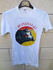 VINTAGE T-shirt MUNDIAL 82 camiseta Coupe du Monde Espana 1982 UFB LOCABAIL M
