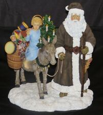 Pipka Memories St. Nicholas and the Christkind Figurine with COA