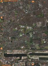 W HAM E13 E16 E6. Upton Park W Ham Fc E Ham Royal Docks City Arpt.  2000 map