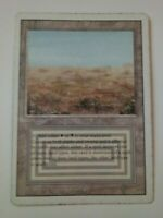 MTG Magic the Gathering English Scrubland 1994 Revised Miscut Dual Land MP
