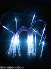 30 er LED Lichterkette Eiszapfen Winter Außen & Innen Leuchtstabkette NEU 70164