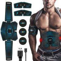 Action Ceinture Abdominale Electrostimulation Gym Fitness Abdos Appareil 6 Modes
