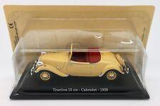 1:43 NOREV/UH & ATLAS - CITROËN Traction 15 six Cabriolet, 1939
