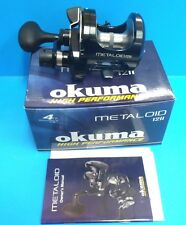 Okuma Jigging Saltwater Overhead Reel Metaloid  2 speed 12II 4 Ball Bearings
