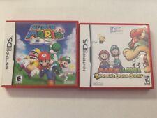Super Mario 64 + Mario & Luigi Lot Nintendo DS Authentic Tested NO MANUAL