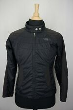 The North Face Black Primaloft Midweight Moto Style Womens Jacket Sz M
