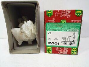L.G.B. GARDEN RAILWAY 2001 EMPTY MINT BOX FOR GUSTAV HANDCAR (K356)