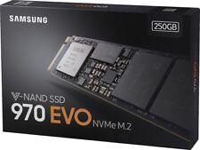 SSD 250 Go Samsung 970 EVO nvme PCIE 3.0 x4 m.2 2280 mz-v7e250bw