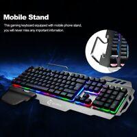 7pin PK-900 Gaming Keyboard RGB Backlight Computer Keyboards For Laptop Desktop