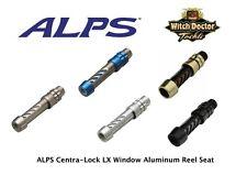 Alps Centra-Lock Lx Window Aluminum Reel Seat Sizes18/20/22/24 5 colors