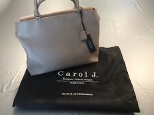 BNWT CAROL J. Italian designer Gianni Notaro - Sabbia Collection Handbag