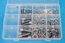 105pc M6 M8 M10 Stainless Socket Cap Screws / Allen Bolt Kit inc Nuts,Washer