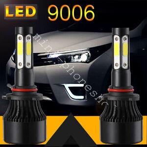 2x 9006 HB4 LED Headlight Bulbs Fog Lights High Low Beam 100W 15000LM 6000K NEW
