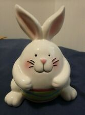 Easter Bunny Rabbit Ceramic Holiday Home Decor
