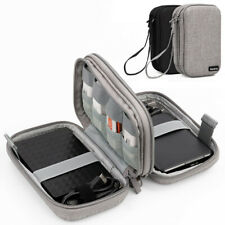 Portable Hard Drives Cables Storage Bag Digital Cord Adapter Accessories Case