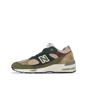 New Balance 991 Sneaker in camoscio Beige-Verde Da Uomo M991NTG 102991