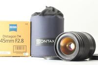 【TOP MINT IN BOX】 Contax Carl Zeiss Distagon T* 45mm f/2.8 AF Lens For 645 Japan
