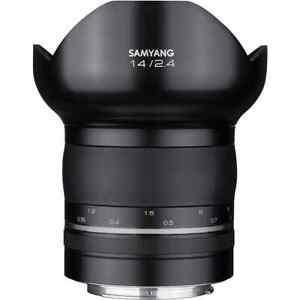 Samyang 14mm F/2.4 XP AE Canon