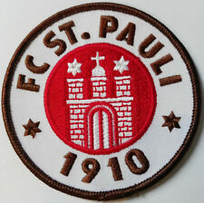 Aufnäher - der Klassiker in gross  , original FC St. Pauli Merchandise , 80mm