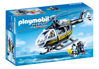 Playmobil 9363 - Tactical Unit Helicopter - NEW!!