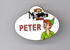 Disney Disneyland Little Monsters Halloween Event Cast Name Tag Peter Pan Le Pin