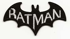 Batman Embroidered Patch Iron-on Art Good Luck Charm