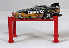 JOHN FORCE CASTROL GTX ELVIS 1998 MUSTANG FUNNY CAR ,1/64 SCALE