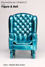 AS1001-10 The Vogue Metallic Blue Green  Plastic Chair for  FR FR2 Homme