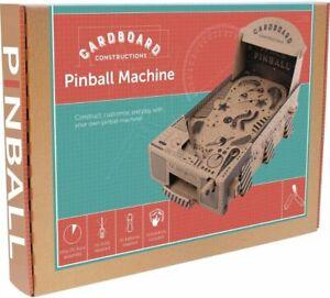BUILD Make YOUR OWN PINBALL MACHINE Cardboard Construction Kit