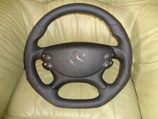 Extremadamente tuning AMG volante de cuero mercedes R 230 w209 CLK w211 CLS w219