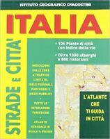Atlante Stradale Città D'Italia,Aa Vv  ,De Agostini,2007