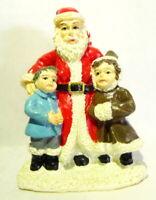 Grandeur Noel Victorian Village Victorian Santa Claus and Children 1999