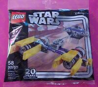 LEGO 30461 STAR WARS 20 YEARS 20TH ANNIVERSARY PODRACER POLYBAG 58PCS NEW SEALED