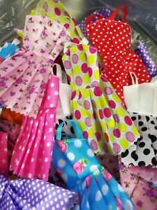 Popular Barbie Doll sized Cloth/Accessory@Any 4 pcs Fashion Dresses@ON SALE Gift