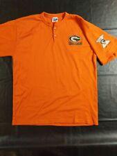 2005 DELMARVA SHOREBIRDS Jersey Shirt Orioles Size Large 10 Year Anniversary