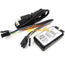 USB saleae Logic Analyzer Device Set USB Cable 24MHz 8CH 24MHz MCU ARM FPGA - UK