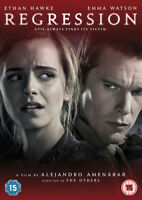 Regression DVD (2016) Emma Watson, Amenabar (DIR) cert 15 ***NEW*** Great Value