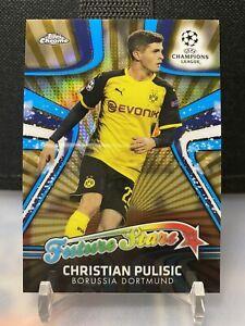 2017-18 TOPPS CHROME Christian Pulisic Dortmund Rookie Future Stars Gold /50