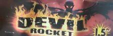 DEVIL ROCKET  FIREWORKS  LABELS