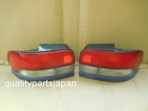 Subaru Impreza GF8 Wagon WRX STI Tail Lights Rear Lamps Blue GF GF2 GF1