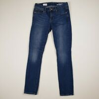 Womens Gap Size 26 Always Skinny Jeans Dark Wash Denim Stretch