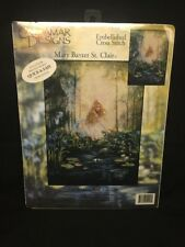 (AD) Cross Stitch Kit ~ Candamar Magical Fairy The Wishing Pool Pond #51220