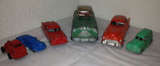 Antique Toy Car Lot of 6 Tootsietoy Hubley Truck Diecast Metal Vehicles