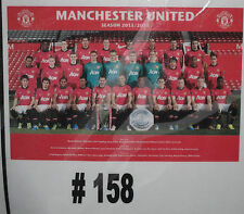 Manchester United 2013/2014 Champions   (#158)  Brand New - rolled in tube