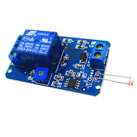 5V Light Control Switch Photoresistor Relay Module Light Detection Sensor