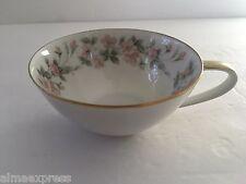 Noritake China 5415 (Peach Flowers, Green & Gray Leaves) - TEA CUP