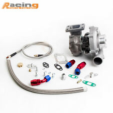 T3/T4 T04E .57 A/R TURB0CHARGER STAGEIII TURBO OIL LINE FOR FOCUS ESCORT MX-6